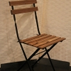 Natural Slatted Chair