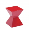 Edge Side Table Red