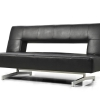 Convertible Black Couch