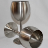 Stainless Wine Glass