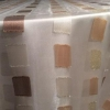 Ivory/Gold Sheer Squares