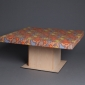 Custom Fabric Covered Square Table Lid